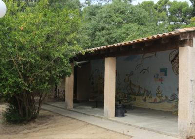 Ecole - préau