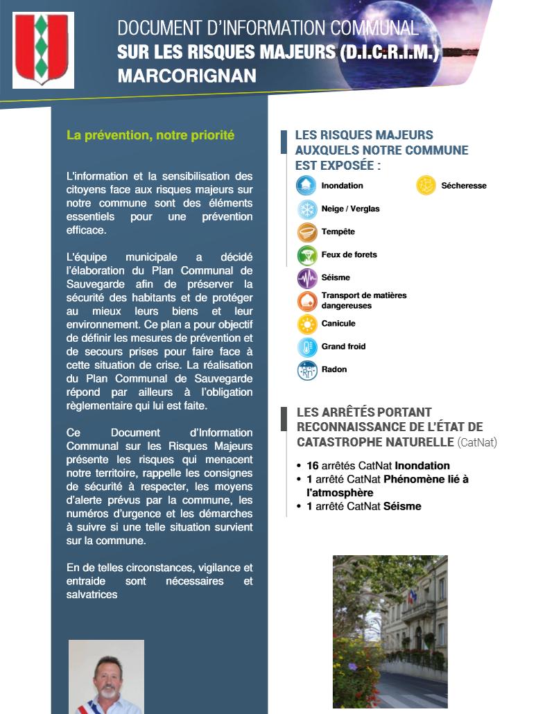 Environnement - Marcorignan DICIRM