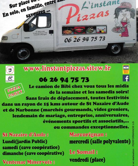 L'INSTANT PIZZAS