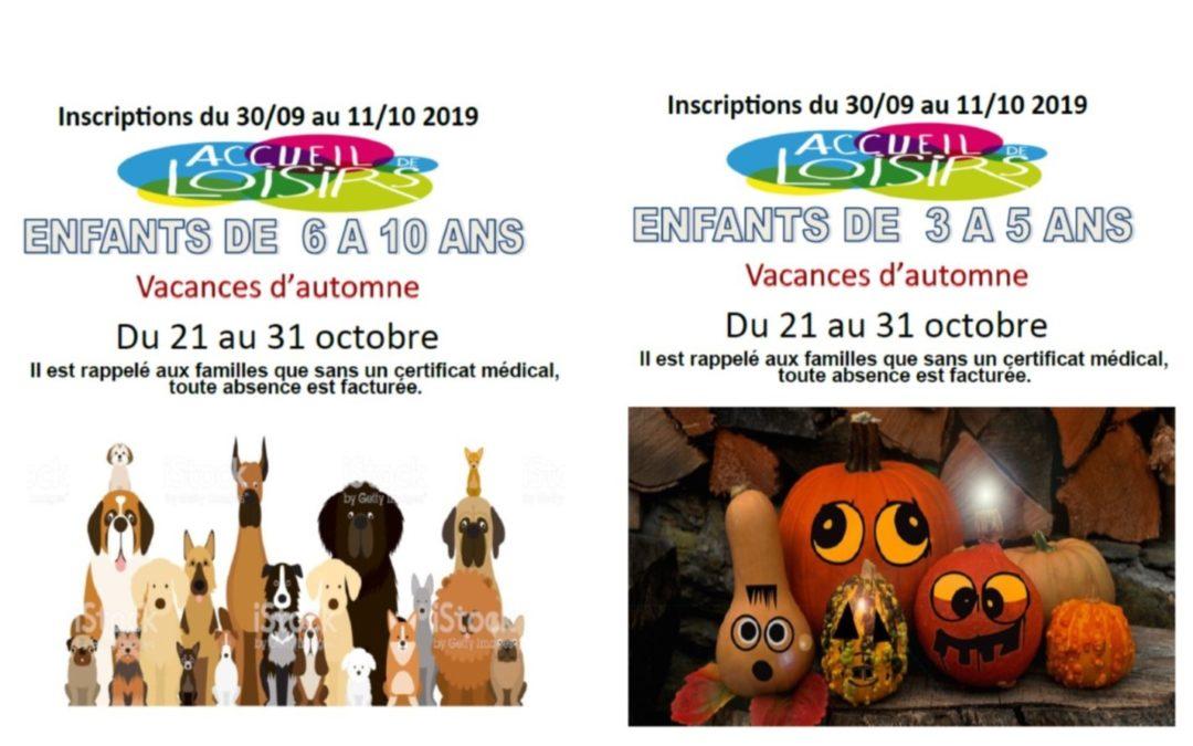 ACCUEILS DE LOISIRS MUNICIPAUX 3-10 ANS
